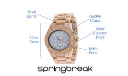 Eco-friendly x Unique Wood Watch with a Purpose